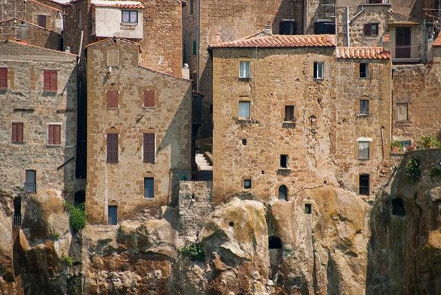 Casas de Pitigliano