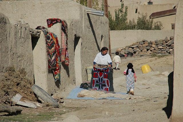Vista de Imichil en la ruta por Marruecos