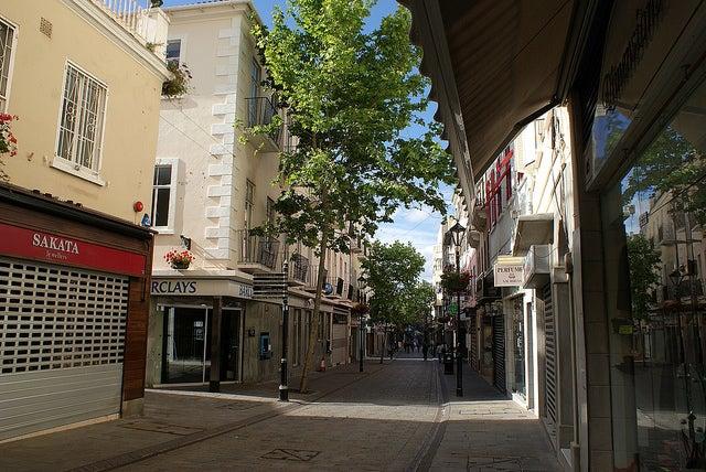 Main Street en Gibraltar