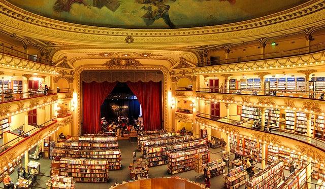Ateneo Grand Splendid, una de las librerías más bonitas