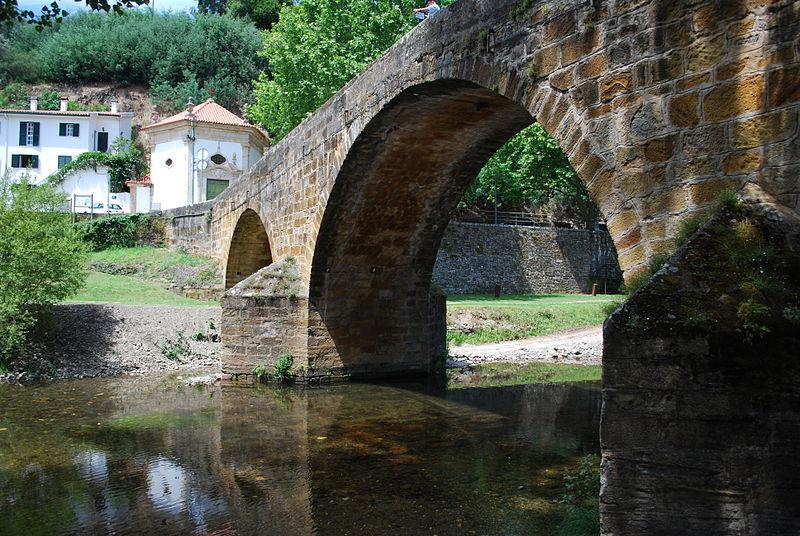 Puente romano de Gois en Protugal
