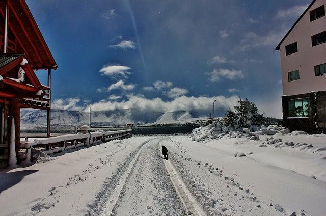 Caviahue en la alta montaña argentina