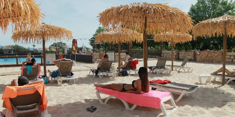Playa de Aquopolis Madrid
