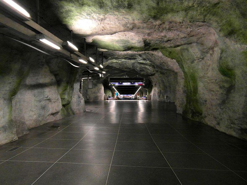 Fridhemsplan en el metro de Estocolmo