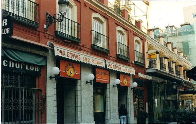 LAs Bravas, lugar de tapas en Madrid