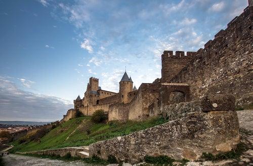 Carcassonne en la Ruta Cátara