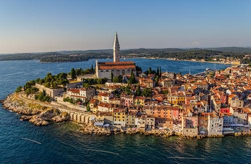 Robinj en Istria