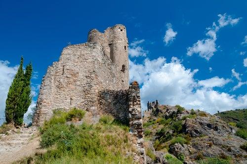 Quertinheux, Castillos de Lastours