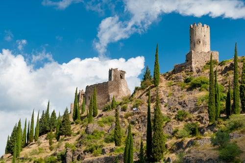 Surdespine en castillos de Lastours