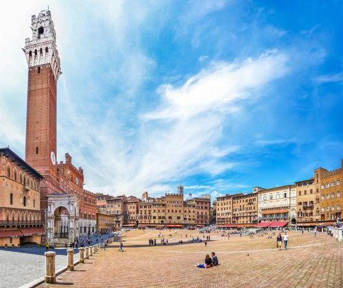 Torre del Mangia en Siena