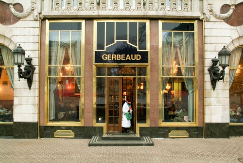 Cafe Gerbeaud en Budapest