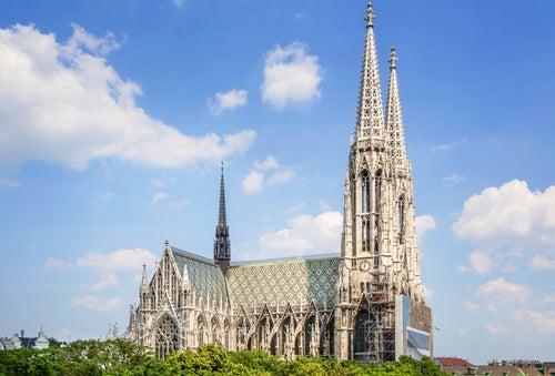 Iglesia Votiva en Viena