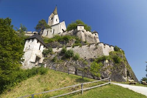 Iglesia del castillo de Hochosterwitz