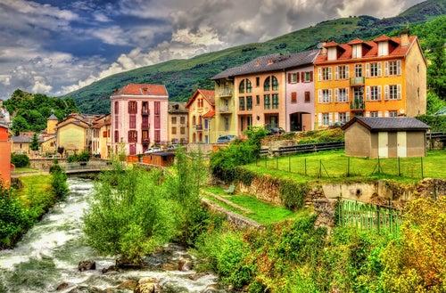 Ax les Thermes en el Pirineo Francés