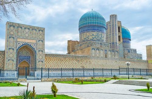 Mezquita Bibi Khanym en Samarcanda