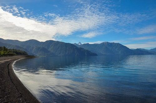 Lago de Todos los Santos en Chile