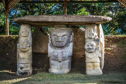 Visitamos el parque arqueológico de San Agustín en Colombia