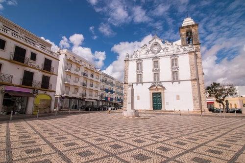 Olhao en el Algarve