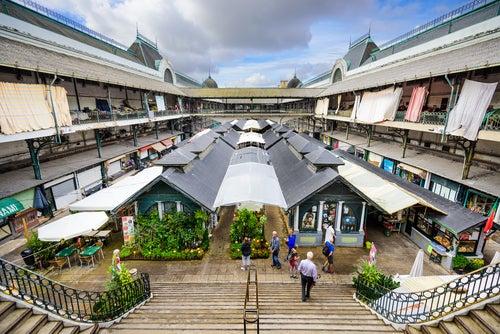 Mercado de Bolhao en Oporto