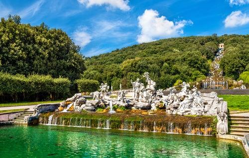 Jardines del Palacio Real de Caserta