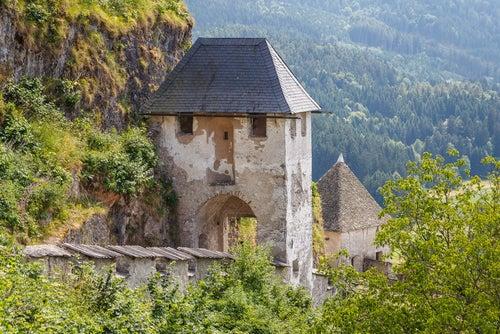 Puerta del castillo de Hochosterwitz
