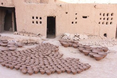 Cerámica de Tamgrout en Marruecos
