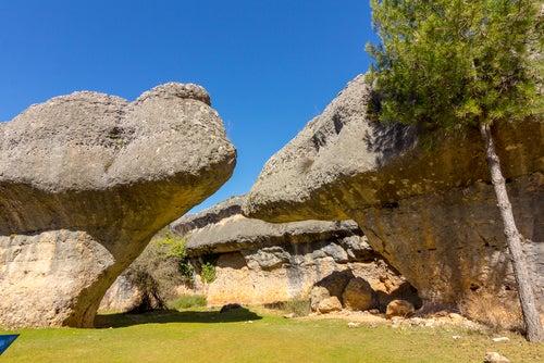 Rocas en la Ciudad Encantada de Cuenca