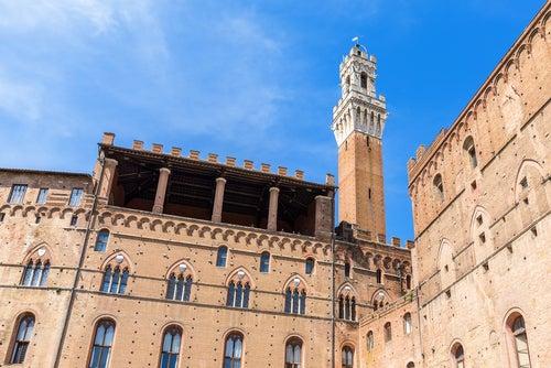 Palazzo Pubblico en Siena