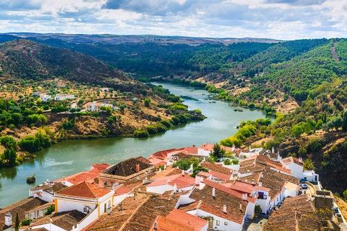 Mértola en Portugal