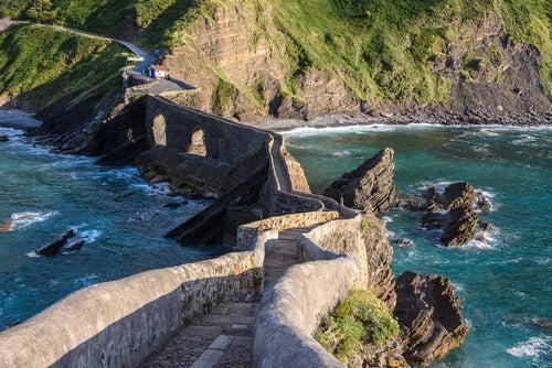 Escalera de San Juan de Gaztelugatxe