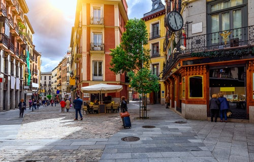 Vista del Madrid de los Austrias