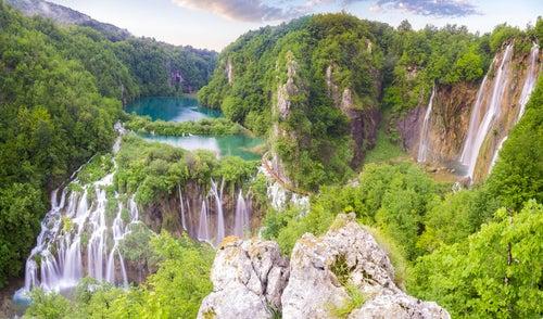 Visitamos el Parque Nacional de Plitvice en Croacia