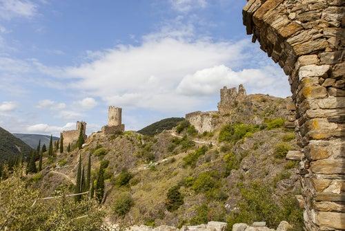 Visitamos los castillos de Lastours en Francia