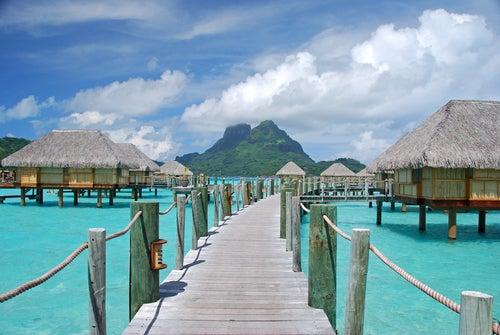 Bungalows en Bora Bora
