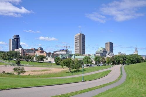 Parque de los Campos de Batalla en Quebec
