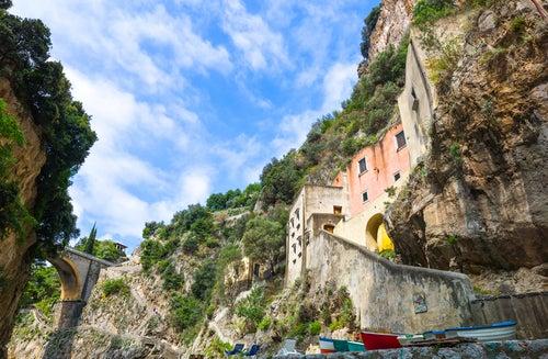 Furore en la costa Amalfitana