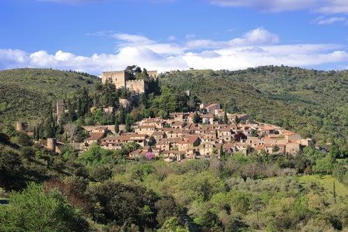 Castelnou en los Pirineos franceses