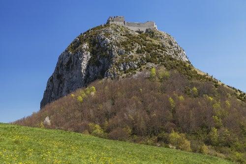 Castillo de Montsegur en la Ruta Cátara