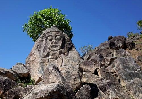 Estatua en San Agustín