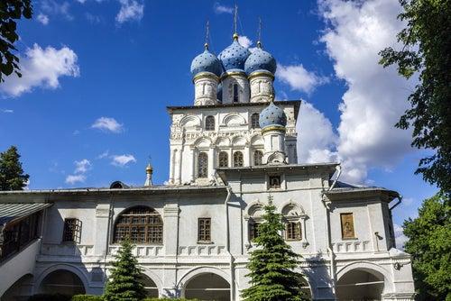 Iglesia de Nuestra Señora de Kazán en Kolomenskoye