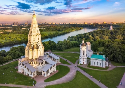 Vista de Kolomeskoye