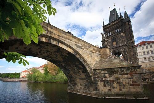 Torre en el puente de Carlos de Praga