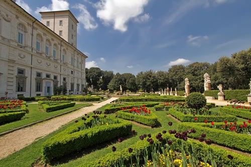 Villa Borghese en Roma