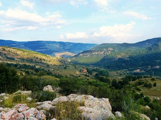 Sierra de Gúdar en Mora de Rubielos