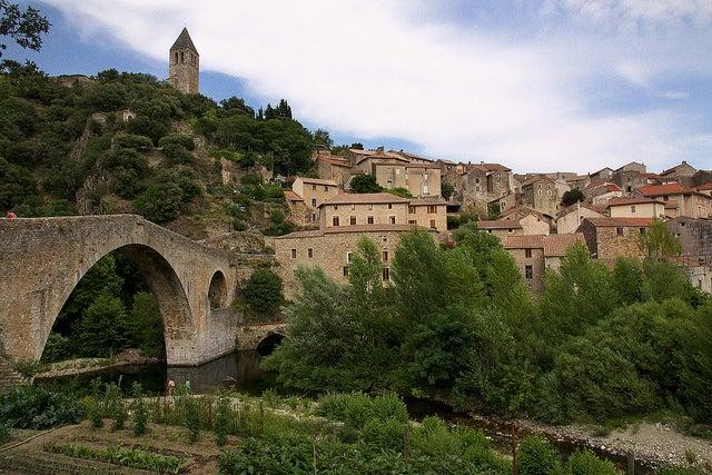 Olargues en el sur de Francia