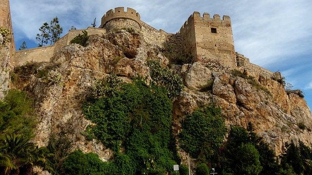 Castillo de Salobreña en Granada
