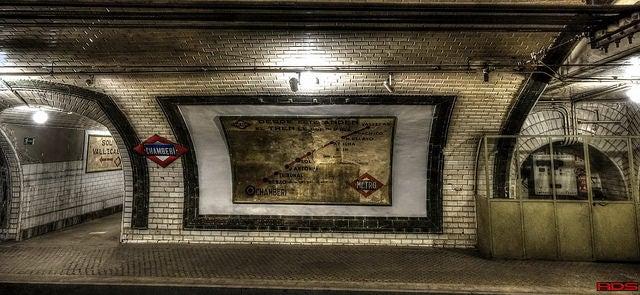 Antigua estación de Chamberí