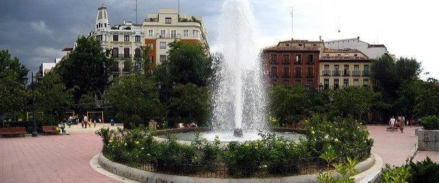 Plaza de Olavide en Chamberí