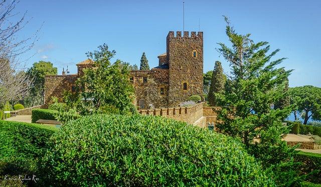 Castillo de Cap Roig en Calella de Palafrugell