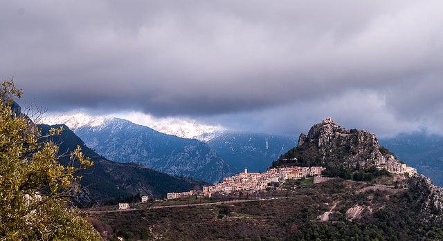 Saint Agnes en el sur de Francia